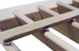 Stainless Steel pre-stapled shutter blades