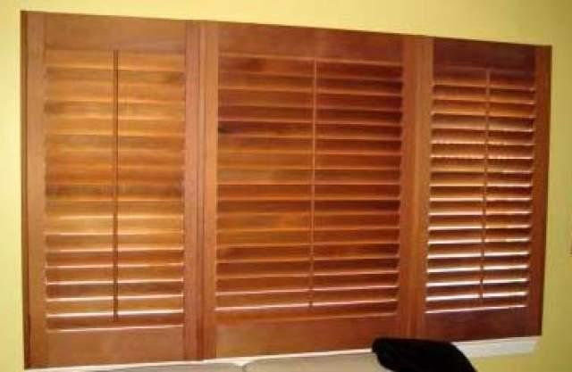 Alan 39 s cedar plantation shutters diy shutter kit sets - Plantation shutters kits ...