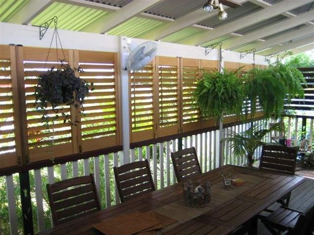 Verandah inside 3 diy shutter kit sets - Plantation shutters kits ...
