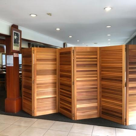 Club House Room Divider