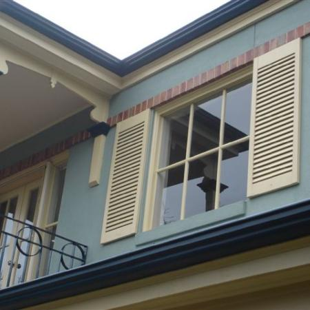 Although shutters are made to be functional and stylish, they can also be used for decorative purposes. Fixed Blade shutters can be used for covering up walls, creating a feature or just adding a bit of a