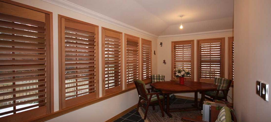 Custom made, solid timber, uniquely designed for inside and outside