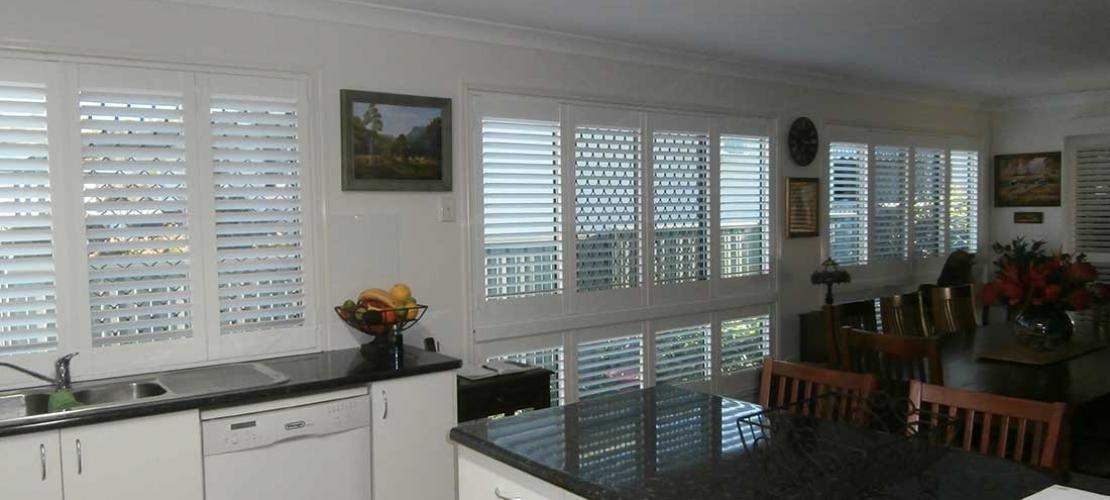 Easily installed interior shutters