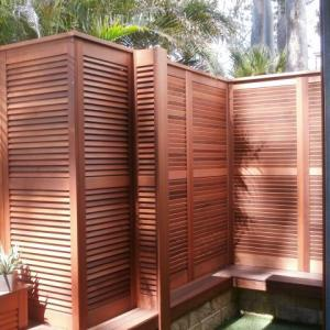 Although shutters are made to be functional and stylish, they can also be used for decorative purposes. Fixed Blade shutters can be used for your privacy needs, like a pool-side changing area. With the Fixed Blade shutters, the possibilities are endless; your shutters, your way!